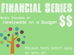 """A weekly series on ways to get """"fiscally fit""""...I already put to use her first helpful hint, and I LOVE IT!"""