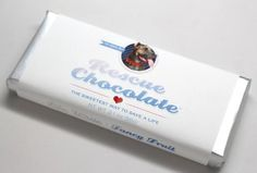 Rescue chocolates that are fair trade and donate to animal rescue centers