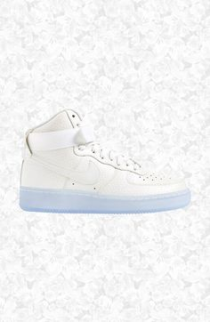 Nike+'Air+Force+1+Hi+Premium'+Leather+High+Top+Sneaker+(Women)+available+at+#Nordstrom
