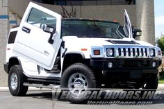 Vertical Doors, Chevy Girl, Hummer H2, Door Kits, Car Accessories, Monster Trucks, Stylish, Vehicles, Stuff To Buy