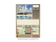 Kalender islami gambar masjid libur nasional