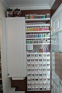 Favorite Craft Room Idea so far    2-17-12