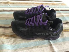 http://www.griffeyshoes.com/nike-shox-black-purple-women-shoes-us-size-7.html Only$47.00 #NIKE SHOX BLACK PURPLE WOMEN #SHOES US SIZE 7 #Free #Shipping!