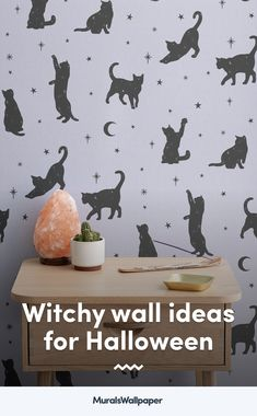 Styling your space with new spiritual decor and magical accessories? This collection of witchy wallpapers with tips and ideas for a chilled-out aesthetic will provide some bewitching inspiration for your own mystical room. Witchy Wallpaper, Forest Wallpaper, Flower Wallpaper, Wallpaper Ideas, Pattern Wallpaper, Daybed In Living Room, Childrens Shop, Meditation Corner, World Map Wallpaper
