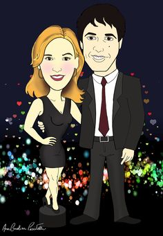 Cosmopolitan couple