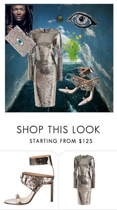 """Glitter Glitter..."" by jo-anna-jarvis ❤ liked on Polyvore featuring Reed Krakoff, Tom Ford and GEDEBE"
