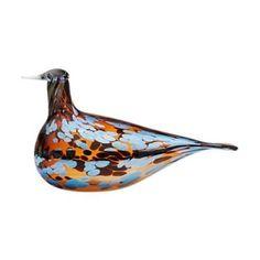 Birds by Toikka Pekkasiini, 230 x 155 mm , Bird Sculpture, Sculptures, Translucent Glass, Blown Glass Art, Kung Fu Panda, Glass Birds, Painted Paper, Glass Collection, Glass Design