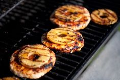 Grilled pineapple turkey burgers with pepper jack cheese, wrapped in lettuce.