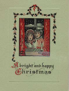 Carolers at the window by katinthecupboard, via Flickr