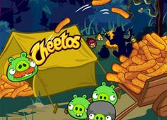 Angry Birds Cheetos 2 Mini Game Has Just Been Unveiled