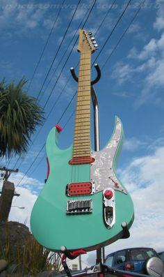 Ash Guitars Katy Perry custom. Nice combo of stratocaster jack input & volume knob in one chrome shape!