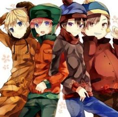 South Park would have been cute if it was anime.