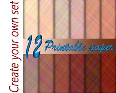 Printable Paper, Printable Stickers, Wedding Wraps, Wedding Scrapbook, Pink Gifts, Mosaic Patterns, Color Blending, Paper Decorations, Party Printables
