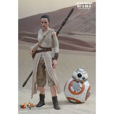 Star Wars The Force Awakens 1/6 Scale Collectible Set: Rey and BB-8