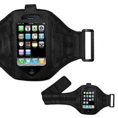Perfect for that afternoon jog or gym session, I'm loving the way that you can still use all of the touchscreen features, even with the protective plastic of the arm band covering the iPhone.
