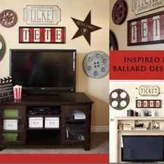 Theatre Room Decor