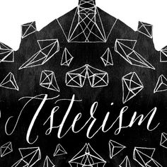 asterism calligraphy font | Molly Jacques