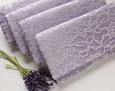 Lavender clutches for bridesmaids on Etsy $259.20 for 8