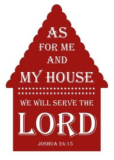 Holiness begins at home