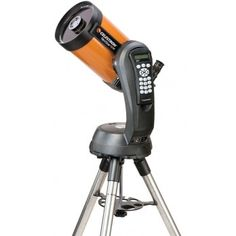 Celestron 11068 Nexstar 6 SE Schmidt-Cassegrain Telescope  Combines the classic heritage of the original orange tube telescopes with the latest state-of-the-art features  40,000 object database with 200 user-definable objects and expanded information on over 200 objects SkyAlign allows you to align on any three bright celestial objects, making for a fast and easy alignment process StarPointer finderscope to help with alignment and accurately locating objects Sturdy computerized Altazimuth…