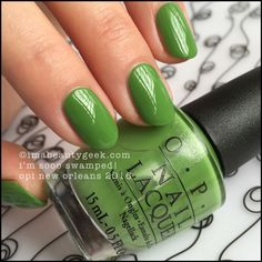 OPI I'm Sooo Swamped! – OPI New Orleans Collection