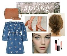 """sweet spring dresses contest entry"" by beccagh7 on Polyvore featuring Dolce&Gabbana, Intentionally Blank, House of Holland, FOSSIL, Laura Mercier, Clinique, Spring, SpringStyle, springfashion and springdress"