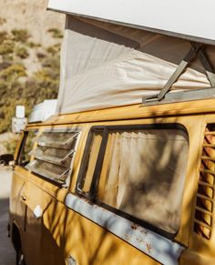 ☀the ultimate ride to #surfeatnap 🌼#vanlife  . Beach Rides, Van Life, Vintage Cars, Surfing, Yellow, Collage, Bohemian, Fresh, Sweet