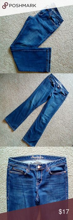 American Rag jeans American Rag jeans In size 9's Low rise Medium wash Bootcut In great condition Like brand new. American Rag Jeans