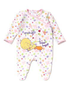 Tweety Pie Baby Sleepsuit | Baby | George at ASDA