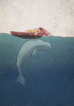 Touch by Valentina Yaskina, via Behance I wanted to pin this because it reminds me of my little Fiona. -Debbie