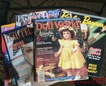 The Doll Collecting industry continues to streamline and merge as advertising dollars have fallen off. Back in the day we had Barbie Bazaar Magazine, Millers Fashion Doll Magazine, Vicky's Dolls in Print, Doll World, DOLLS, Doll Reader, then Haute Dolls and more magazines and publications devoted entirely to dolls.