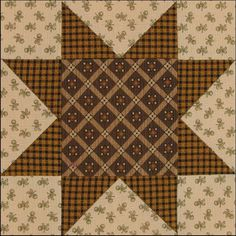 Civil War Quilts: Stars in a Time Warp 13: Printed Plaids