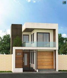 Analizaremos dos modelos de fachadas de casas modernas que utilizan elementos de diseño contemporáneos como grandes cristales, madera y el uso de armoniosas estructuras de hormigón, descubre detall… #modelosdecasasmodernas