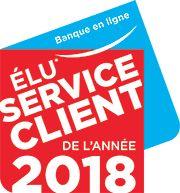 Elu service client de l'année 2018