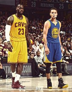 Lebron James and Stephen Curry (Golden State Warriors)