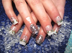 New Years Diamonds - Nail Art Gallery by nailsmag.com