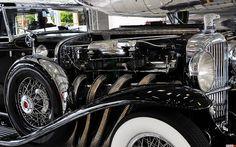 1930 Duesenberg Model SJ Murphy Town Car - black - supercharged engine