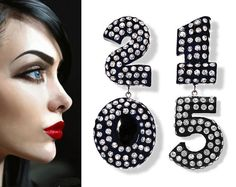 • SUDDENLY, IT'S 2015 • The Ultimate New Years Eve Party Earring!