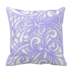 SOLD Pillow Floral abstract background! #Zazzle #Pillow #Floral #abstract #background #white http://www.zazzle.com/pillow_floral_abstract_background-189695014053540160