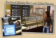 Around the Sims 3 | Downloads | Objects | Bakery Part 1