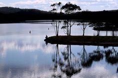 Lysterfield Lake View Image, Melbourne, Australia, River, Mountains, Places, Nature, Design, Naturaleza