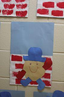 Humpty Dumpty... like the wall painting idea