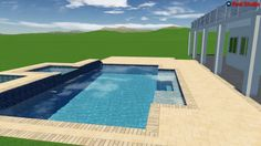Pool Studio - 3D Swimming Pool Design Software. Designed and created by American Beauty Pools.