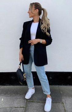 Casual Summer Outfits, Simple Outfits, Chic Outfits, Fall Outfits, Fashion Outfits, Womens Fashion, Looks Casual Chic, Casual Street Style, Running Errands Outfit