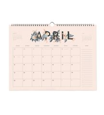 Rifle Paper Co. - 2015 Appointment - Spiral-bound Wall Calendar