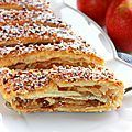 Apfelstrudel { strudel aux pommes }