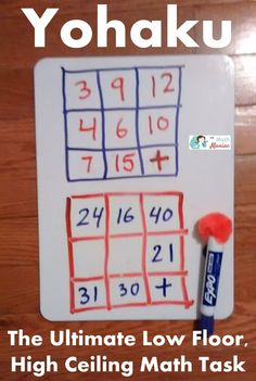 Keep kids (and adults!) of all ages engaged in the math practice standards and important math content such as addition, subtraction, multiplication, division, fractions, algebra and more with these fun Yohaku puzzles. Math puzzles are a great way to provide a low floor, high ceiling task that will engage your learners, improve their mathematical mindset and move them forward with their understanding of numeracy.