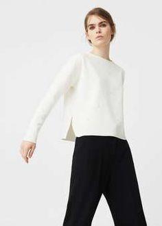 Mango Pearl sweatshirt Found on my new favorite app Dote Shopping #DoteApp #Shopping