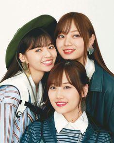 齋藤飛鳥 山下美月 梅澤美波 Saito Asuka, Asian Singles, Beautiful Asian Women, Yamamoto, Girls 4, Asian Woman, Pretty Girls, Japanese, Cute