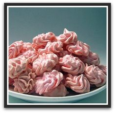 Cherry Almond Meringues... really?  Yummers!